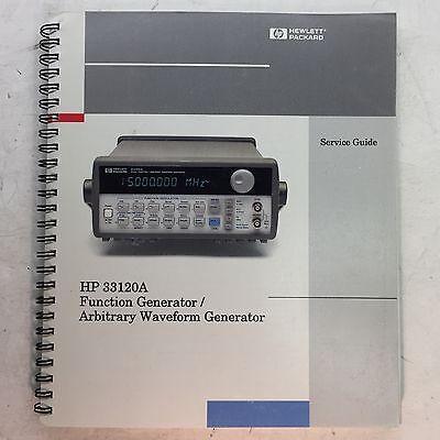 Hp 33120a Function Generatorwaveform Generator Service Guide Pn 33120-90014