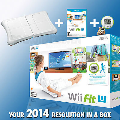 Wii Fit U w/ Wii Balance Board accessory and Fit Meter Wii U NEW
