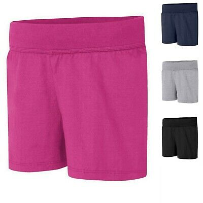 Hanes Girls' Jersey Short OK265 -- BUY TWO GET THE THIRD ONE - Girls Jersey Short