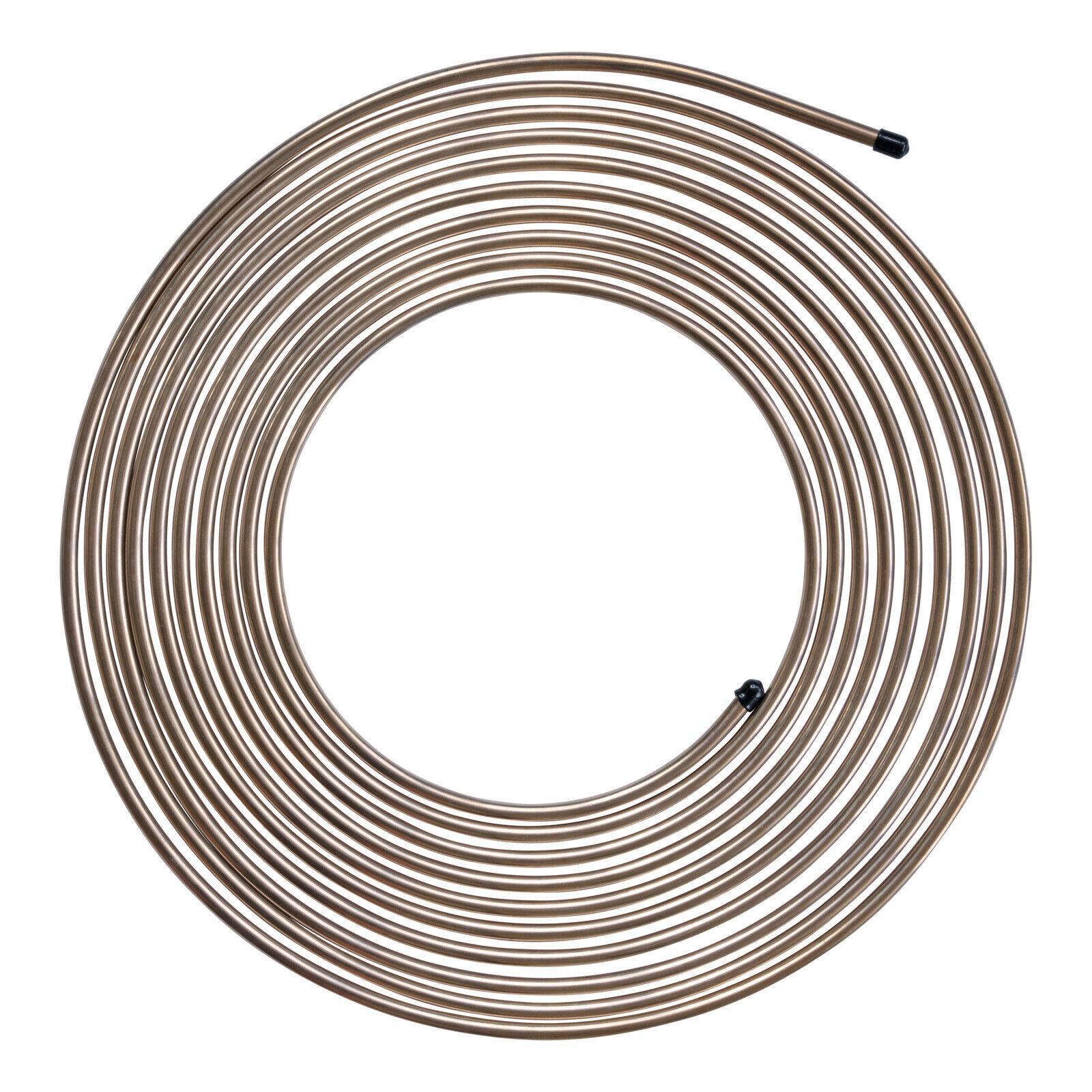 25 Foot Copper Nickel Rolls- 3//16 5//16 3//8 1//4