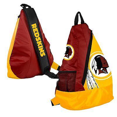 Washington Redskins BackPack / Back Pack Book Bag NEW - TEAM COLORS - SLING - Redskins Colors
