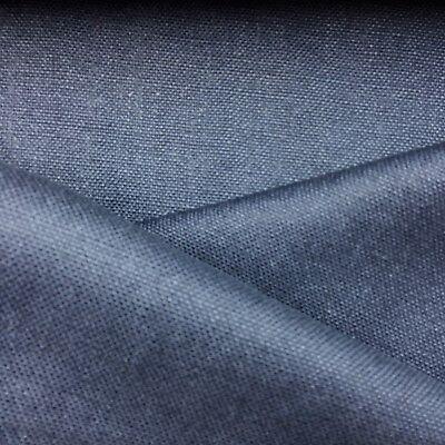 - 100% BELGIAN LINEN UPHOLSTERY FABRIC CHALET / INDIGO BY THE (100% Linen Upholstery Fabric)