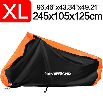 Orange XL Motorcycle Cover UV Waterproof For Harley Davidson Sportster 1200 883
