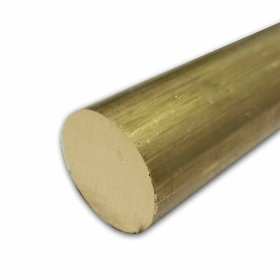 C360 Brass Round Rod 0.500 12 Inch X 48 Inches