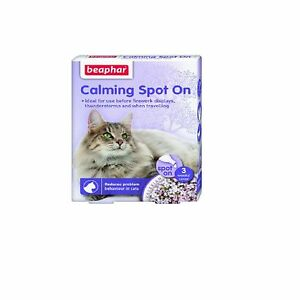 beaphar calming spot on for cats reduce stress posted today if paid before 1pm ebay. Black Bedroom Furniture Sets. Home Design Ideas