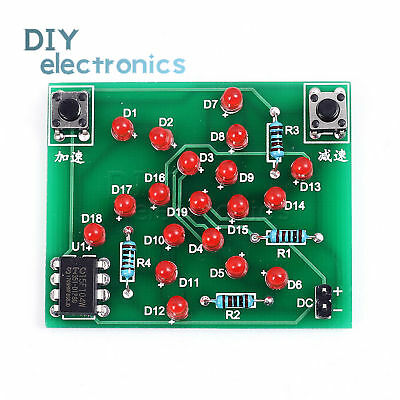 Diy 5v Electronic Windmill Funny Diy Pcb Board And Parts Kit For Practiceus