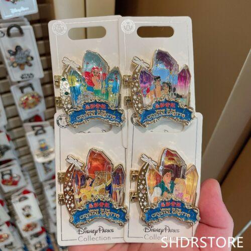 SHDR Disney Pin 2021 Crystal grotto voyage Pincess Shanghai disneyland exclusive