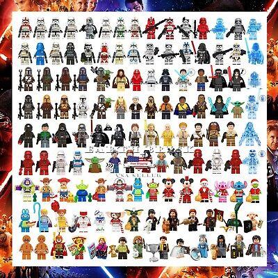 100+ Star Wars Minifigures Darth Vader Yoda Obi-Wan Han Solo Ren Harry Potter
