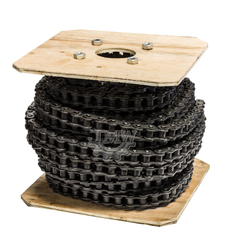 #50 Roller Chain 50 Feet with 5 Connecting Links