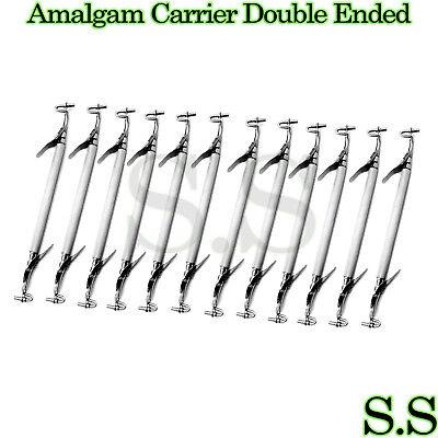 12 Amalgam Carrier Double Ended Mini 1.5mm Regular 2mm