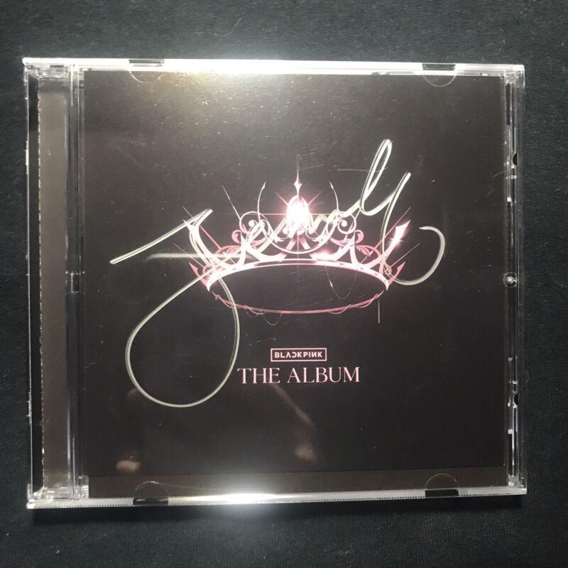 BLACKPINK THE ALBUM JENNIE SIGNED CD