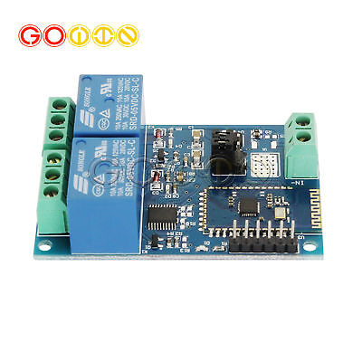 Dc 5v Dual Bluetooth Relay Module Smart Home Mobile App Remote Switch Board
