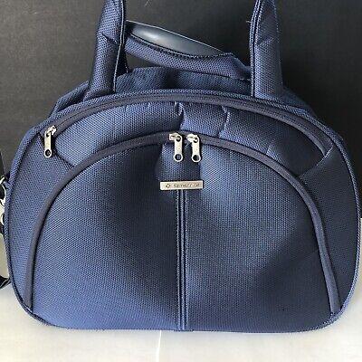 Samsonite Blue Overnight Carry On Travel Shoulder Bag