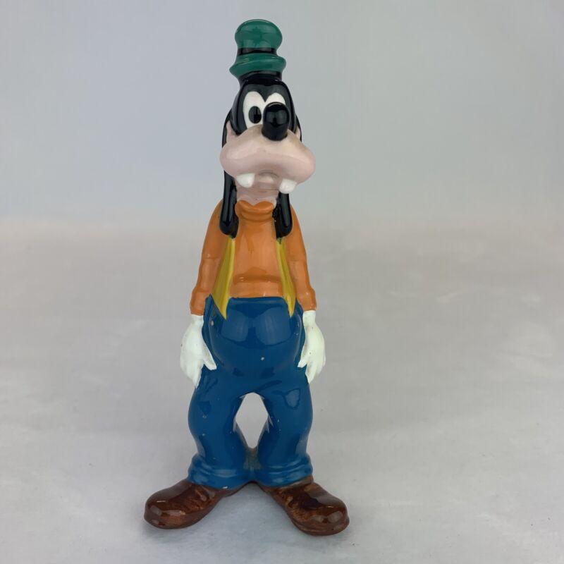 """VINTAGE GOOFY Ceramic Figure 6"""" Japan Walt Disney Productions Figurine"""