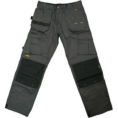 DeWalt Pro Tradesman Work Trouser Cordura Tough Fabric 2 Colours Various Sizes