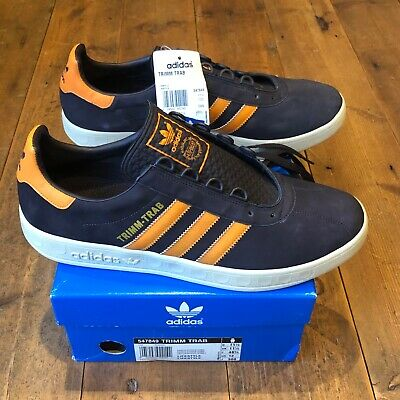 Adidas TRIMM TRAB Chocolate brown 2004 deadstock uk 11.5Koln Dublin Spzl carlos