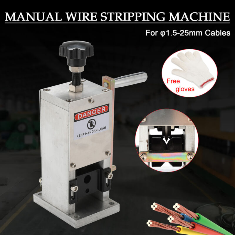 Wire Stripping Machine Portable Cable Stripper Scrap Copper Recycling Tool