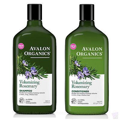Avalon Volumizing Conditioner ( Avalon Organics volumizing ROSEMARY SHAMPOO and CONDITIONER set)