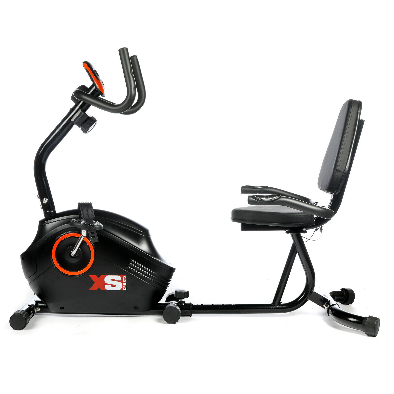 Details about XS Sports Recumbent Magnetic Exercise Bike-Seated Support  Rehabilitation Cycle