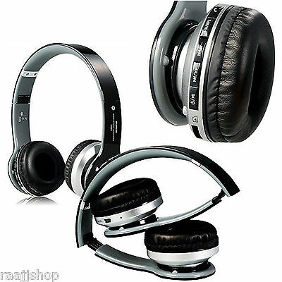 NEW BOXED BLUETOOTH WIRELESS HEADSET HEADPHONES + MIC FOR ALL IPHONE IPADS IPOD Ipod Wireless Headset