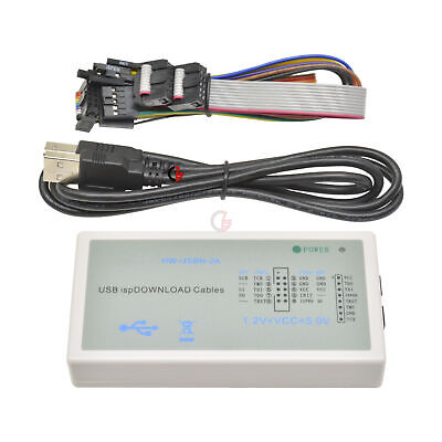 Hw-usbn-2a Usb Download Cable Jtag Spi Programmer Kit For Lattice Fpga Cpld