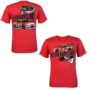 Kevin-Harvick-2014-Chase-Authentics-4-Budweiser-Drive-RED-Tee-FREE-SHIP