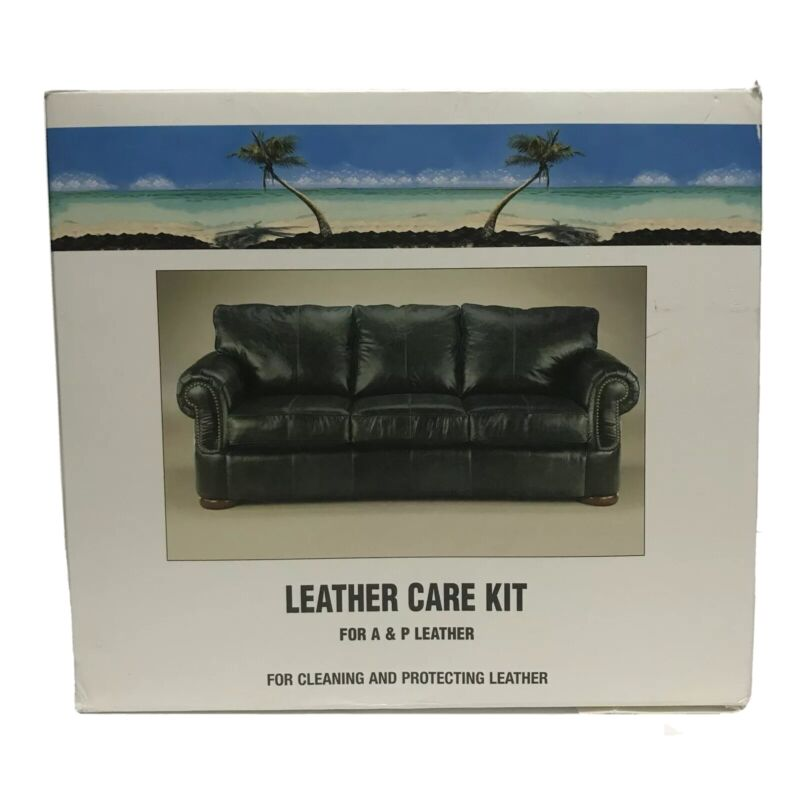 LEATHER MASTER by DR. TORK Leather Care Kit for A & P Leather. 12 Oz per bottle