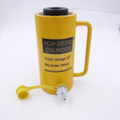 Hollow Hydraulic Cylinder Rch-20100 Hydraulic Jack 20t Output 100mm Max Stroke