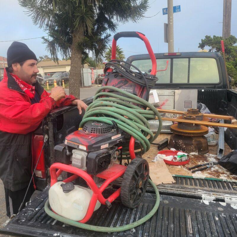 Predator Pressure Washer Gas Powered 159cc, 2500, PSI, 2.4 GPM, 4 HP, Item #6220