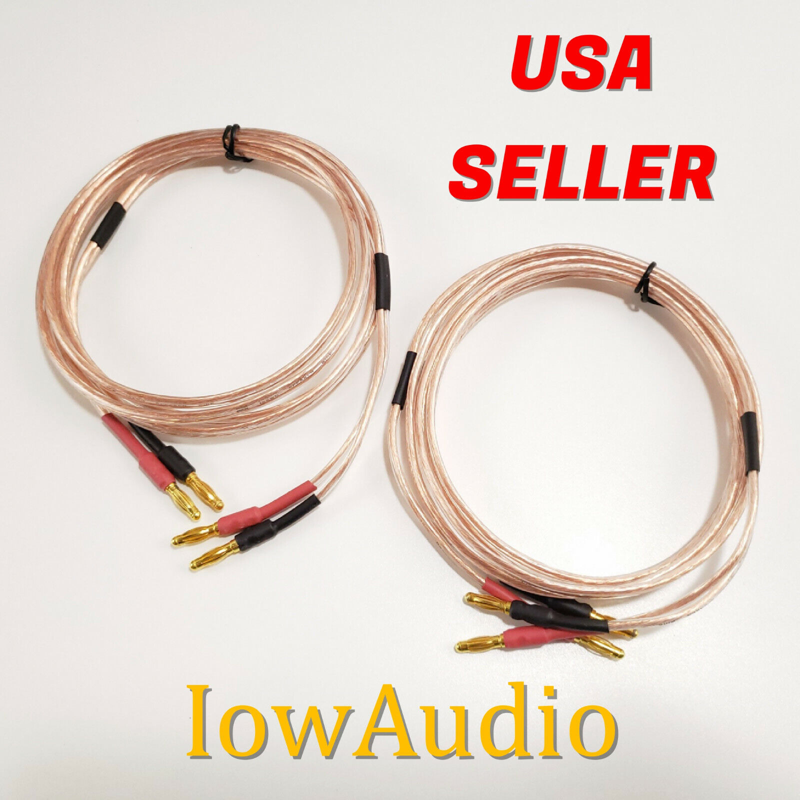 Speaker Cables With Banana Plugs