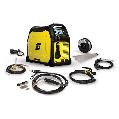 Esab Rebel Emp 285ic Migsticktig Welder And Free Helmet Bundle 0558102554