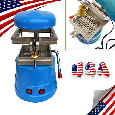 CE Dental Vacuum Forming Molding Implement Former Heat Thermoforming Lab Equipment