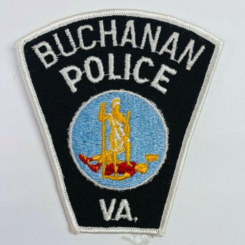 Buchanan Police Virginia VA Patch (C1)