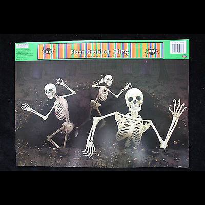 Halloween Skel (Gothic Dungeon-SKELETONS ESCAPE ATTACK-Window Cling Halloween Horror)