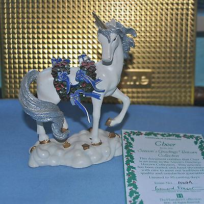 Hamilton Collection Cheer Season´s Collection EINHORN Einhörner Unicorn RAR