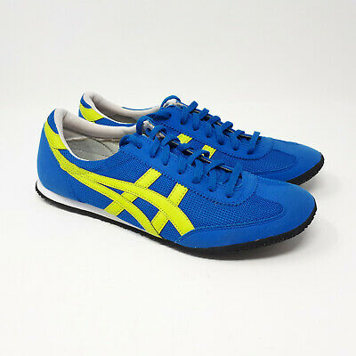 Asics Onitsuka Tiger Machu Racer Running Shoe Sneaker Royal Blue Lime Men's 9 US