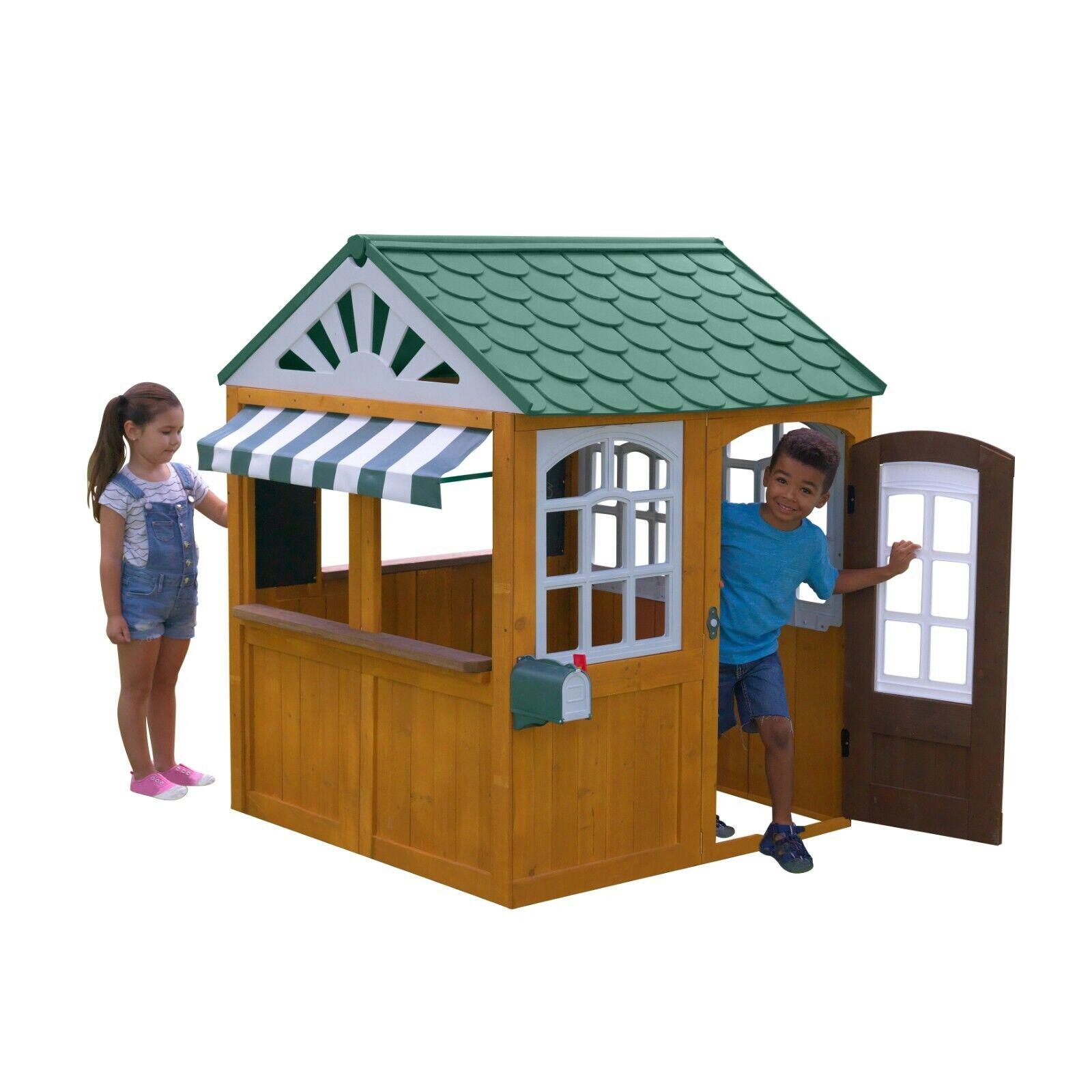 Garden View Outdoor Playhouse Outdoor Toys and Structures Ho