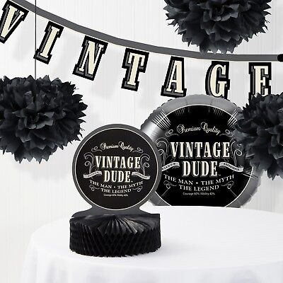 Vintage Dude Decorations Kit](Vintage Dudes)