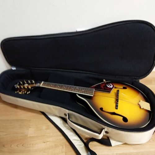 【Serviced】Epiphone MM-30/AS A-Style Mandolin W/ Case serviced