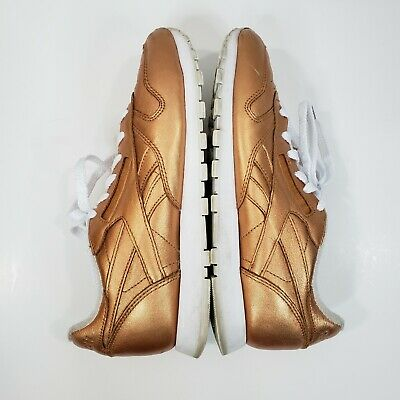 Reebok Classic X Face Stockholm Women's 8 Impulse Metallic Orange V67022 Shoes