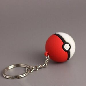 Pokemon Poke Ball Keyring Keychain 3D Gota Catch Em All