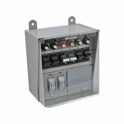 Reliance Transfer Switch Cover For 6-circuit Switches