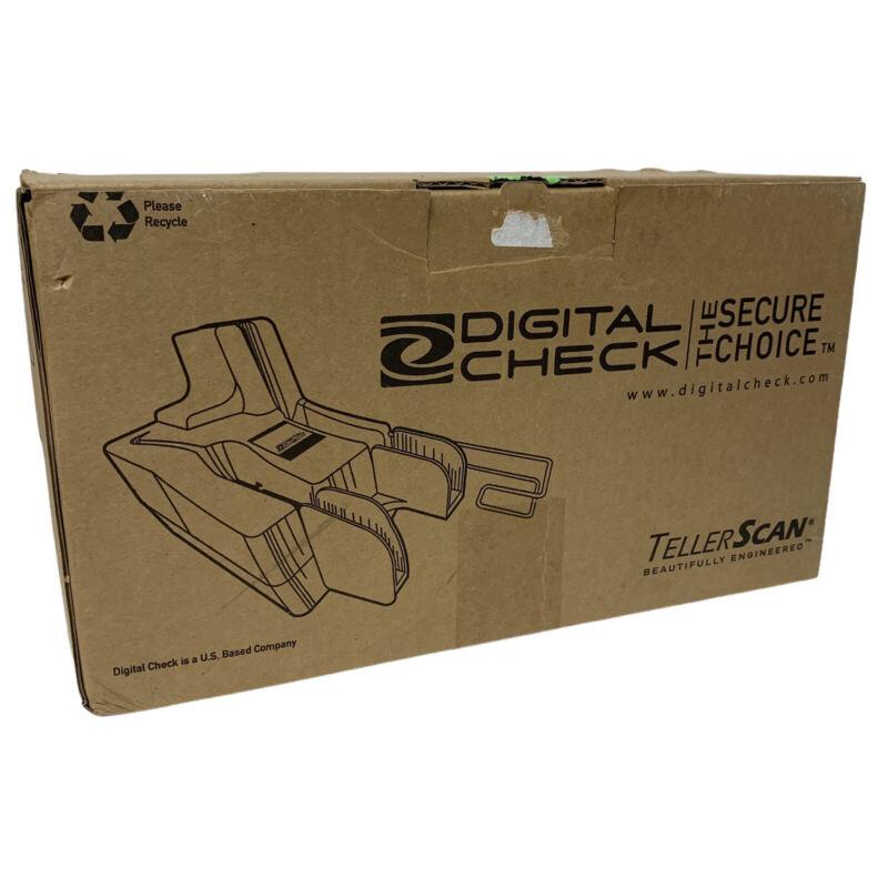 Digital Check TS215 Tellerscan215 Check Scanner Non - Inkjet Model
