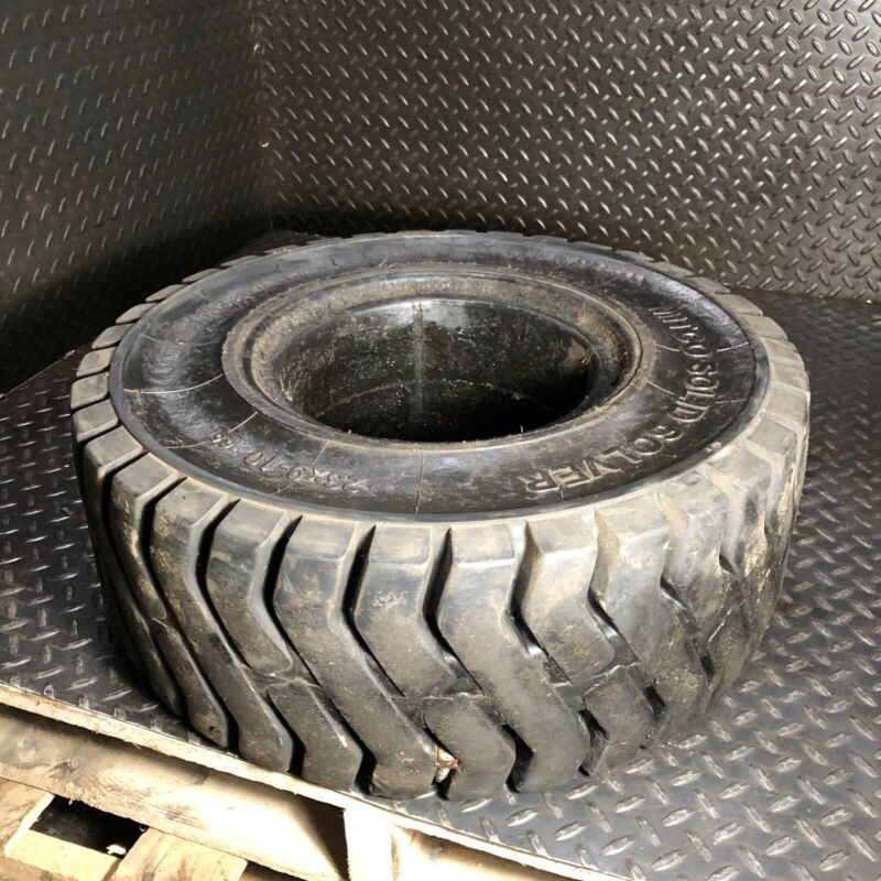 23x9-10 Mitco Solid Pneumatic Tire Rim Size 6.5 Forklift Slightly Used