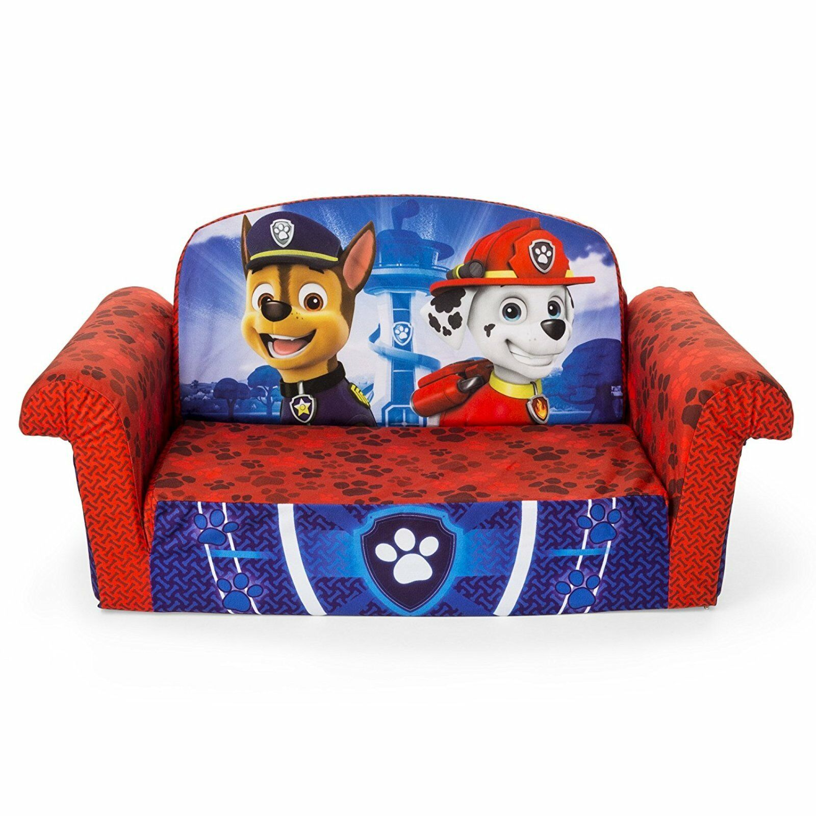 Paw Patrol Kids Sofa Bed Chair Couch Toddler Recliner