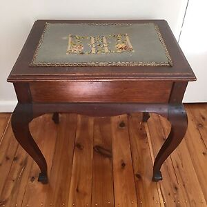 Vintage French Provincial Stool Pymble Ku-ring-gai Area Preview