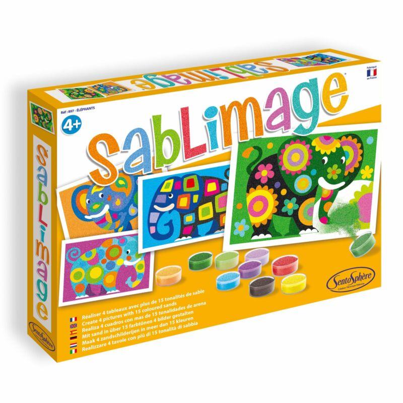 "Sentosphere Sandimage ""Elephant"""