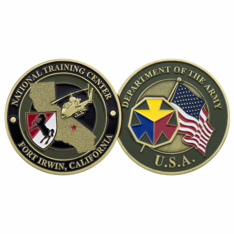 FORT IRWIN NATIONAL TRAINING CENTER CHALLENGE COIN