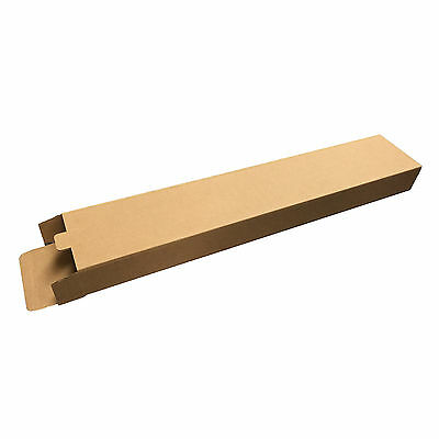 26x5x2.5 Cardboard Shipping Boxes Long Corrugated Cartons Supply Tube Packing