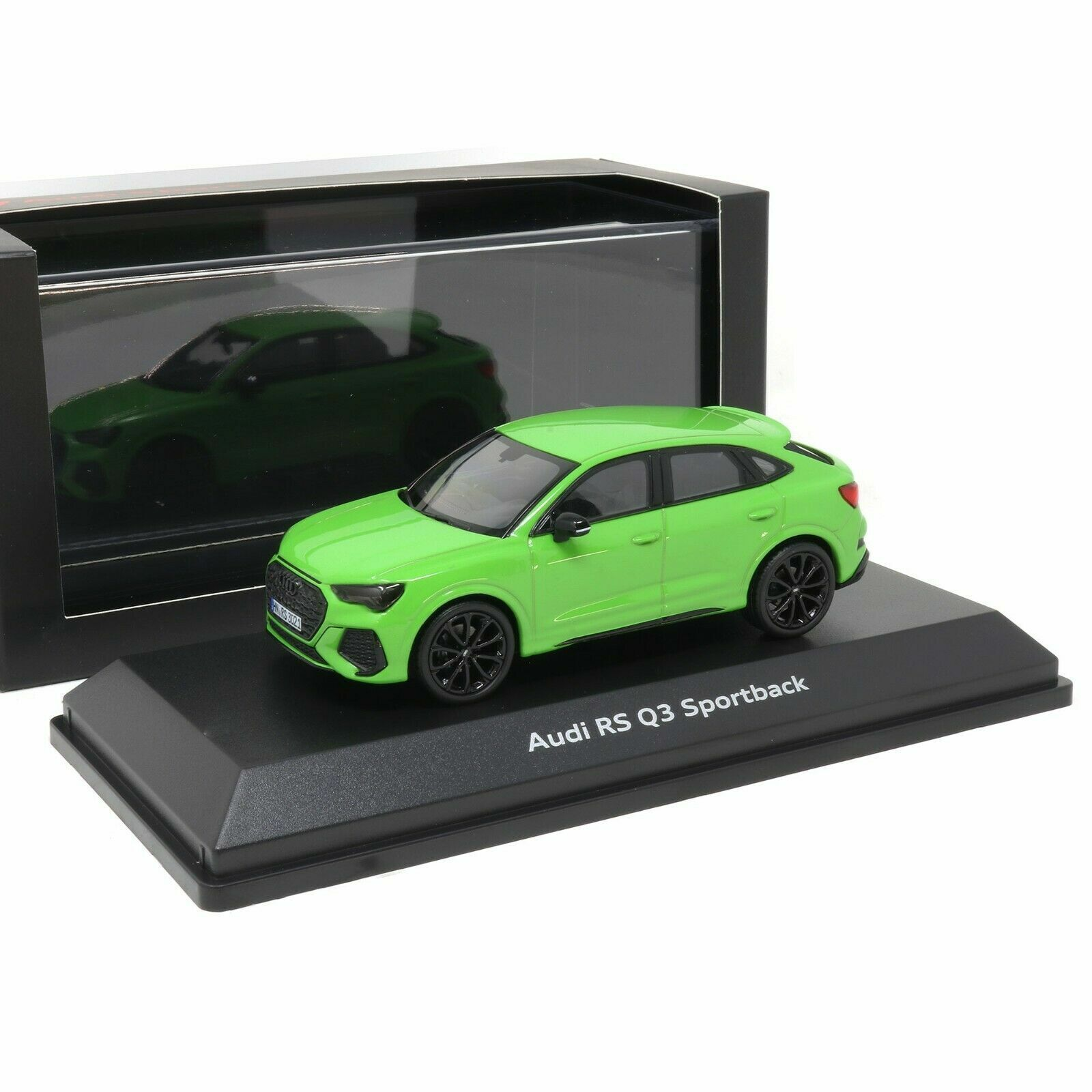 Audi Rs Q3 Sportback 1 43 Kyalami Green Model Car 5012013631 Genuine New 2160000052787 Ebay